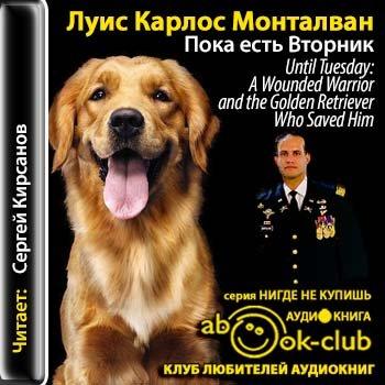 Аудиокнига «Монталван Луис Карлос (в соавторстве с Бретом Уиттером) — Пока есть Вторник. Удивительная связь человека и собаки, способная творить чудеса»
